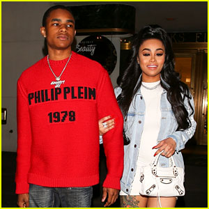 Blac Chyna Goes Shopping at Saks with Boyfriend YBN Almighty Jay