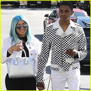 Blac Chyna & Boyfriend YBN Almighty Jay Hold Hands During Shopping Trip