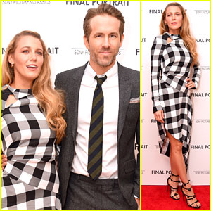 Blake Lively & Ryan Reynolds Make Rare Red Carpet Appearance at 'Final Portrait' Screening