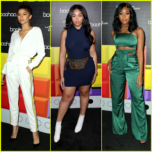 Zendaya Celebrates New boohoo Clothing Collection with Block Party in LA