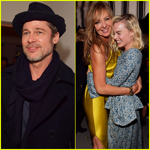 Brad Pitt Celebrates Nominees at Gersh Oscar Party 2018!