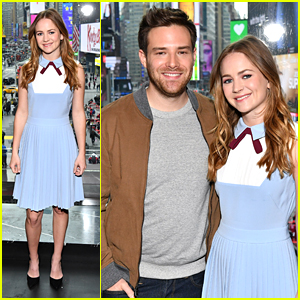Britt Robertson & Ben Rappaport Promote 'For The People' in NYC