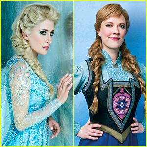 Broadway's 'Frozen' Cast Pose for Portraits in Costume!