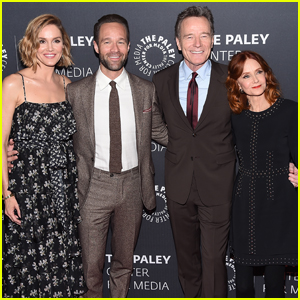 Bryan Cranston Gets Support from 'Dangerous Book For Boys' Cast at Paley Center!