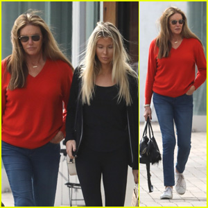 Caitlyn Jenner Spends Her St. Patrick's Day Shopping With Sophia Hutchins in Malibu!