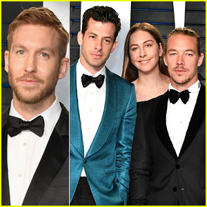 Calvin Harris & More Stop By Vanity Fair's Oscars 2018 Party!