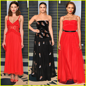 Phoebe Tonkin, Kat Graham & Camila Mendes Celebrate The Oscars at Vanity Fair's Annual Party
