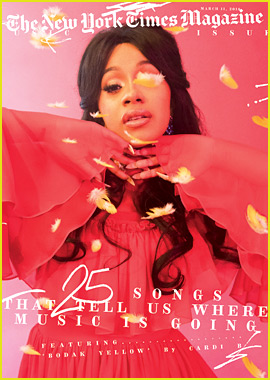 Cardi B Stuns on 'New York Times Magazine' Music Issue Cover