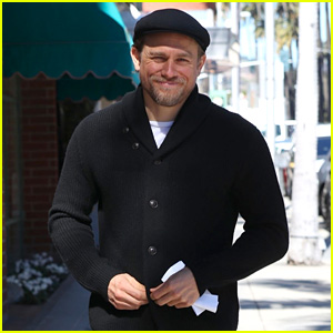 Charlie Hunnam Flashes a Smile in Beverly Hills!