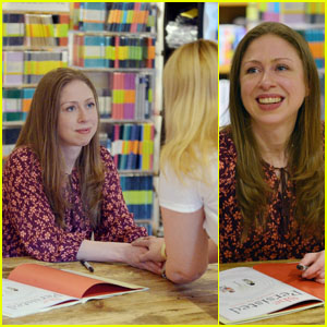 Chelsea Clinton Signs Her New Book 'She Persisted Around The World' in Florida
