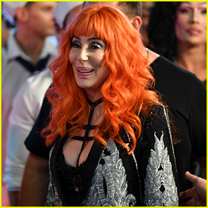 Cher Wears a Bright Orange Wig for Mardi Gras in Sydney