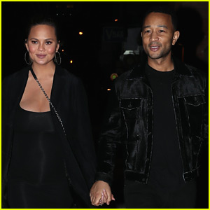 Chrissy Teigen & John Legend Hold Hands on Date Night in Brooklyn