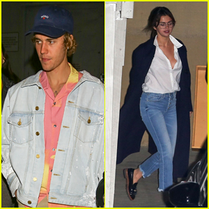 Justin Bieber & Selena Gomez Head Out Separately After Church!
