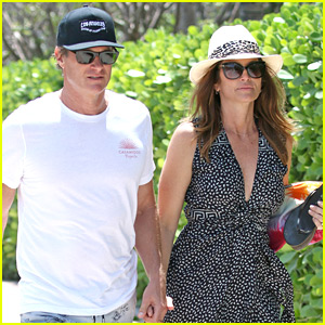 Cindy Crawford & Rande Gerber Soak Up the Sun in Miami!