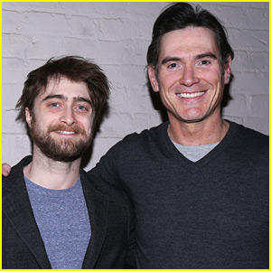 Daniel Radcliffe Supports Billy Crudup at 'Harry Clarke' Off-Broadway Show!