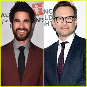 Darren Criss & Christian Slater Suit Up for Alliance for Children's Rights Dinner