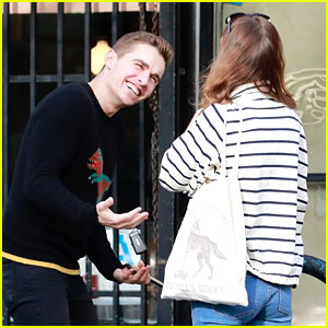 Dave Franco Grabs Lunch with His Friend Ahna O'Reilly!