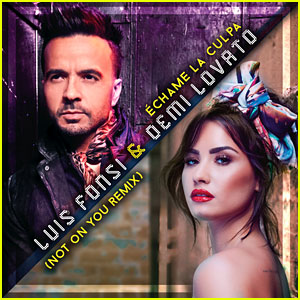 Demi Lovato & Luis Fonsi: 'Echame La Culpa (Not on You Remix)' (English Version) Stream, Download, & Lyrics - Listen Now!