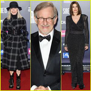 Diane Keaton & Steven Spielberg Get Honored at Italy's David di Donatello Awards 2018!