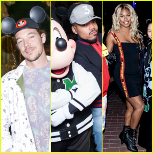 Diplo, Chance the Rapper, Laverne Cox & More Attend Opening Ceremony's Spring 2018 Runway Show at Disneyland!