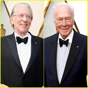 Oscar Legends Donald Sutherland & Christopher Plummer Attend the 2018 Show!