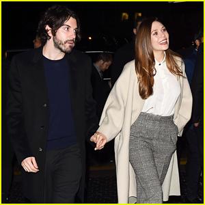 Elizabeth Olsen & Boyfriend Robbie Arnett Couple Up at Gersh Oscar Party 2018!