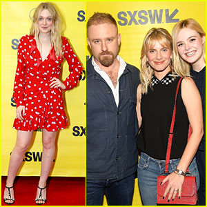 Elle Fanning Premieres 'Galveston' While Sister Dakota Reps Female Leaders at SXSW