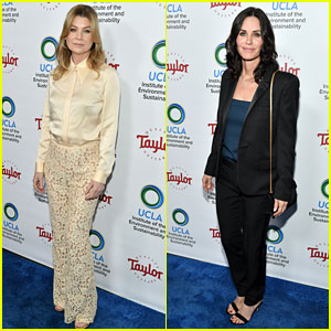 Ellen Pompeo & Courteney Cox Celebrate Game Changers in the Environmental Community