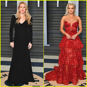 Ellie Goulding & Bebe Rexha Go Glam at Vanity Fair Oscars Party 2018!