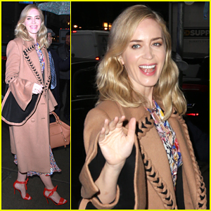 Emily Blunt 'Blown Away' by Hubby John Krasinski in Director Role for 'A Quiet Place'