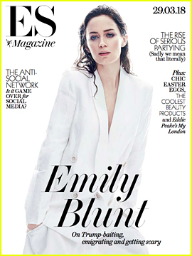Emily Blunt Opens Up Following Backlash to Donald Trump Joke