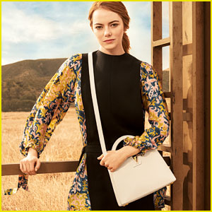 Emma Stone Makes Her Louis Vuitton Campaign Debut!