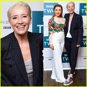 Emma Thompson Joins Co-Stars at BBC Screening of 'King Lear'!
