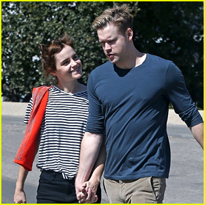 Emma Watson & Chord Overstreet Holding Hands - See the Photos!