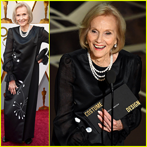 Legend Eva Marie Saint, 93, Gets Standing O at Oscars 2018!