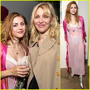 Frances Bean Cobain Loves Having Mom Courtney Love's Support!