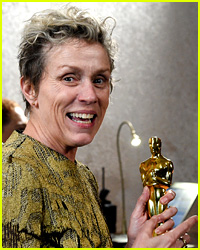 Frances McDormand's Oscar Thief Posted Video with Award Minutes Before Arrest!