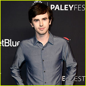 Freddie Highmore Joins His 'Good Doctor' Co-Stars at PaleyFest