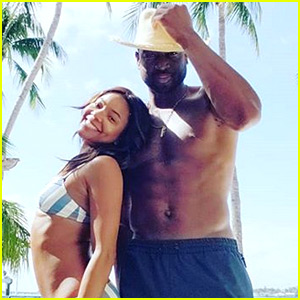 Gabrielle Union & Dwyane Wade Show Off Super Ripped Bodies!