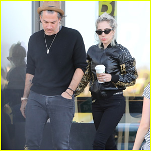 Lady Gaga & Boyfriend Christian Carino Look Stylish While Going Shopping in Malibu!
