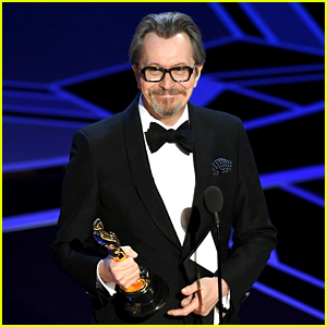 Gary Oldman Wins Best Actor at Oscars 2018 for 'Darkest Hour'