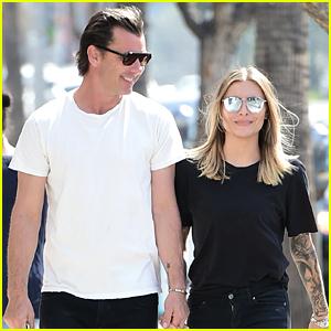 Gavin Rossdale & Girlfriend Sophia Thomalla Look So Happy Together!