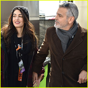George & Amal Clooney March Alongside Students at March For Our Lives in D.C.