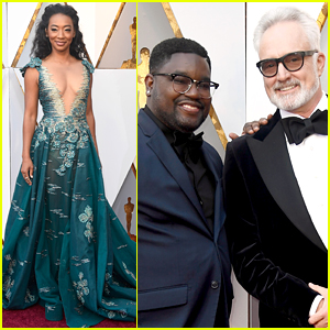 'Get Out' Actors Bradley Whitford, Betty Gabriel, & More Attend Oscars 2018!