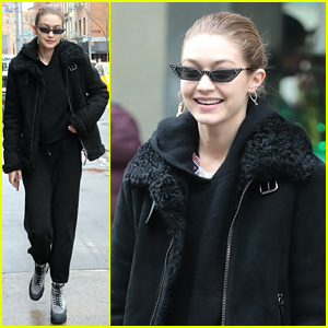 Gigi Hadid Stocks Up on Groceries After Her Fashion Week Trips