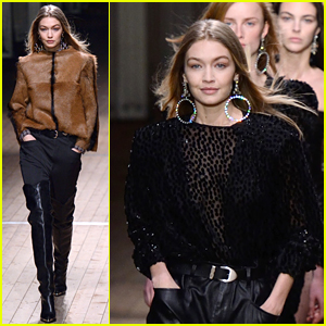 Gigi Hadid Continues to Be Fashion Week's Brightest Star!