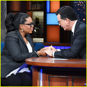 'God' Tells Oprah Winfrey to Run for President on 'Late Show' - Watch Here!
