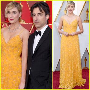 Greta Gerwig Brings Boyfriend Noah Baumbach to Oscars 2018!