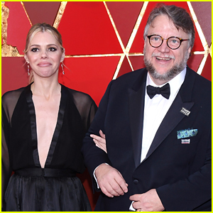 Guillermo Del Toro Attends Oscars 2018 with Screenwriter Kim Morgan