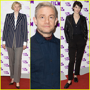 Gwendoline Christie, Martin Freeman & Gemma Arterton Present at Into Film Awards 2018!